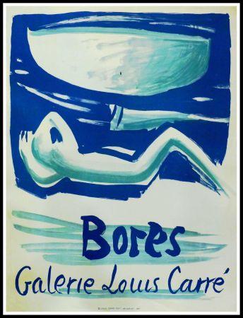 掲示 Bores - FRANCISCO BORES - GALERIE LOUIS CARRÉ