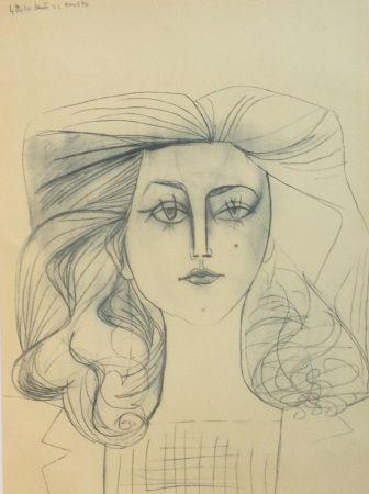 リトグラフ Picasso - Francoise Gilot 1