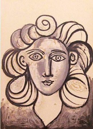 リトグラフ Picasso - Francoise Gilot 2