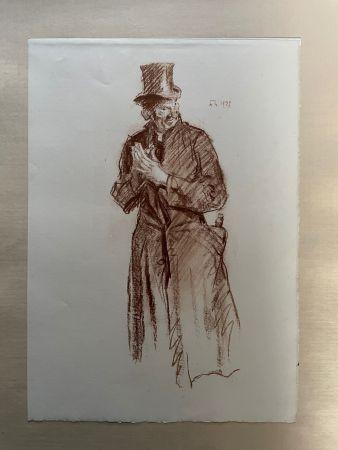リトグラフ Brangwyn   - Frank Brangwyn - Limited Edition Lithograph entitled 'Le Sacristian' 1927