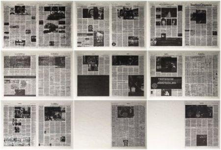 リトグラフ Kassay - Frankfurter Allgemeine