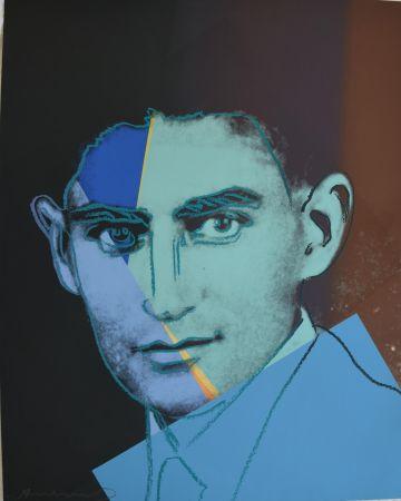 シルクスクリーン Warhol - Franz Kafka TP