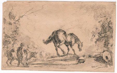 彫版 Della Bella - Free Horse, from