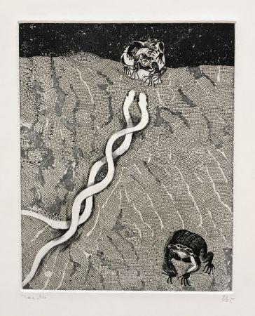 彫版 Toledo - Frogs and Snakes