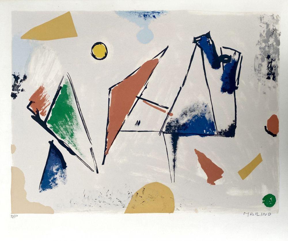リトグラフ Marini -  From Color to Form VIII