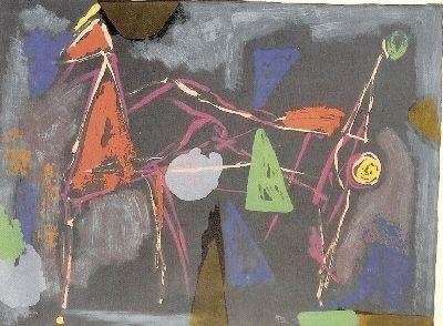 リトグラフ Marini - From colour to form IV