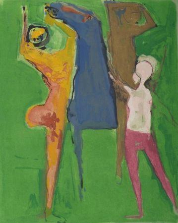 エッチングと アクチアント Marini - From Shakespeare I, Plate Vii