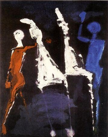エッチングと アクチアント Marini - From Shakespeare II, plate VIII