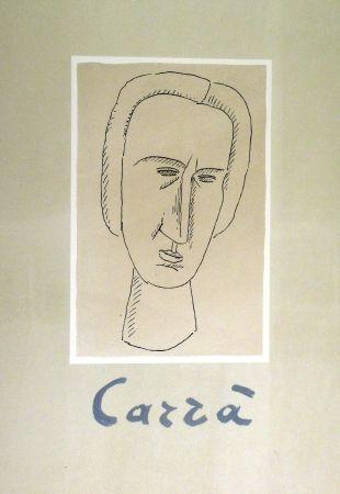 リトグラフ Carra - Frontespizio