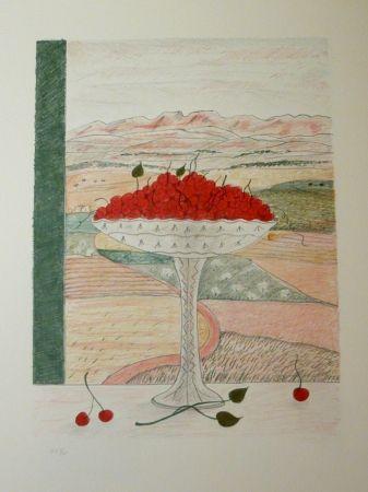 リトグラフ Girona - FRUITERA I CIRERES