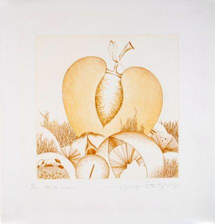 エッチングと アクチアント Pierron - Fruits Mûrs