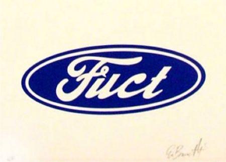 シルクスクリーン Burnetti - Fuct