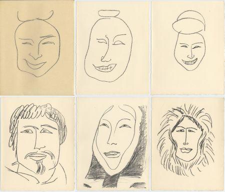 挿絵入り本 Matisse - G. Duthuit : UNE FÊTE EN CIMMÉRIE (ex. avec suite) Tériade, 1963