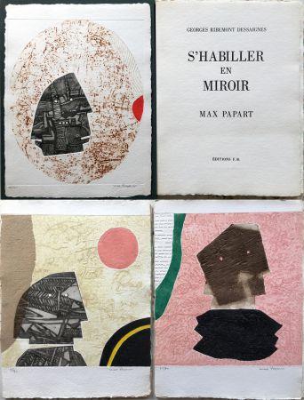 エッチングと アクチアント Papart - G. Ribemont Dessaignes : S'HABILLER EN MIROIR (1977).