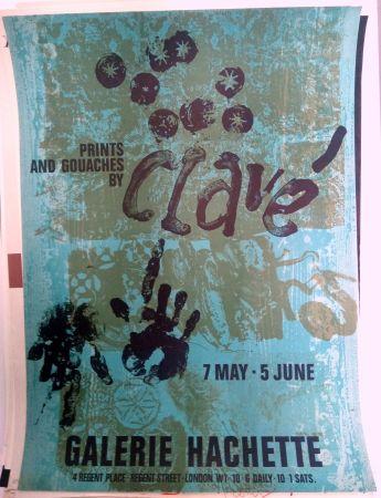 掲示 Clavé - Galeria Hachette 7 May 5 Jun