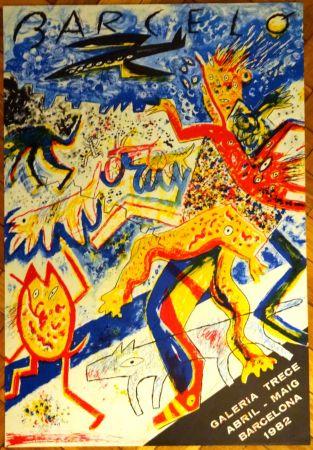 リトグラフ Barcelo - Galeria Trece