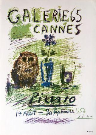 リトグラフ Picasso - Galerie 65 Book Plate (Hand Signed)