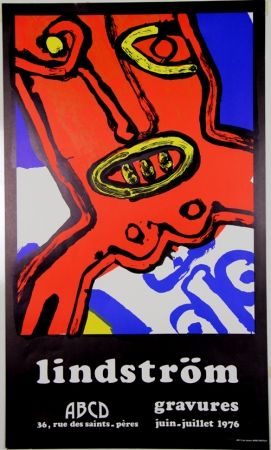 リトグラフ Lindstrom - Galerie ABCD