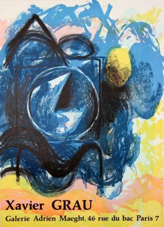 リトグラフ Grau - Galerie Adrien Maeght
