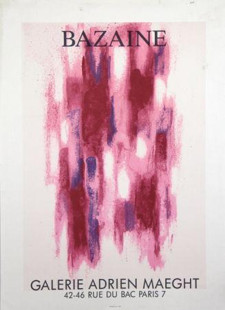リトグラフ Bazaine - Galerie Adrien Maeght