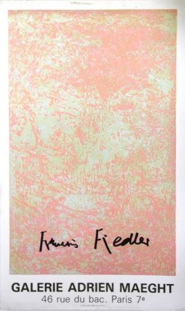 リトグラフ Fiedler - Galerie Adrien Maeght