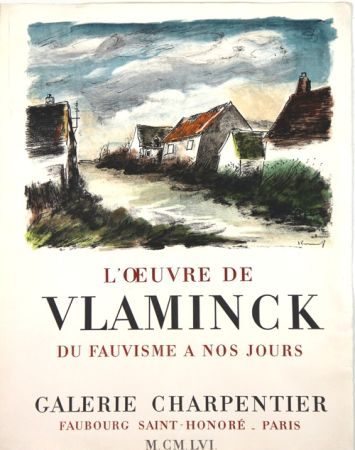 リトグラフ Vlaminck - Galerie Charpentier