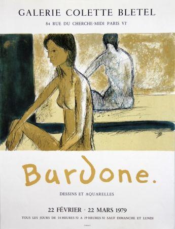 リトグラフ Bardone - Galerie Colette Bletel