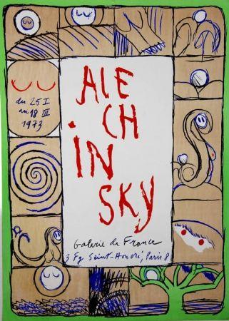 リトグラフ Alechinsky - Galerie de France