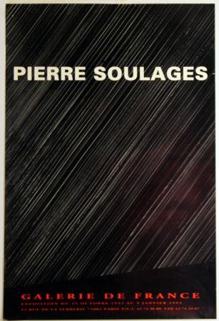 オフセット Soulages - Galerie de France