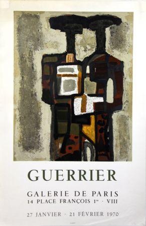 リトグラフ Guerrier - Galerie de Paris