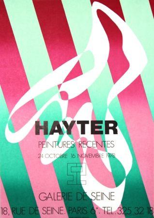 リトグラフ Hayter - Galerie de Seine