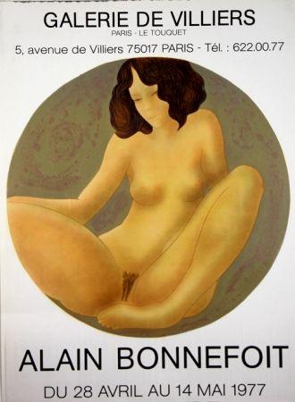 リトグラフ Bonnefoit - Galerie de Villiers