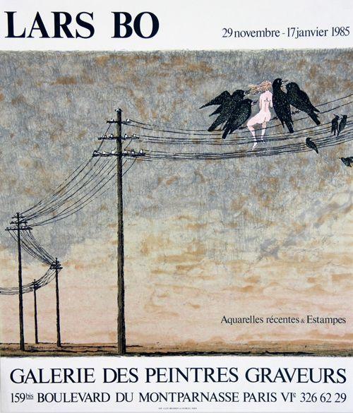 リトグラフ Bo - Galerie des Peintres Graveurs