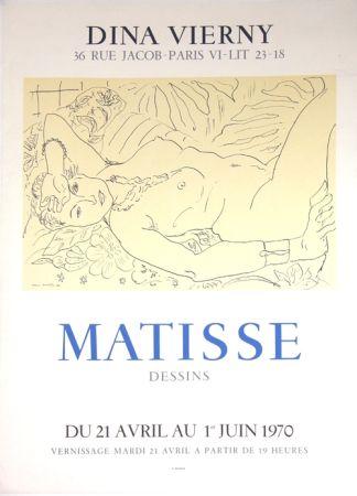 リトグラフ Matisse - Galerie Dina Vierny
