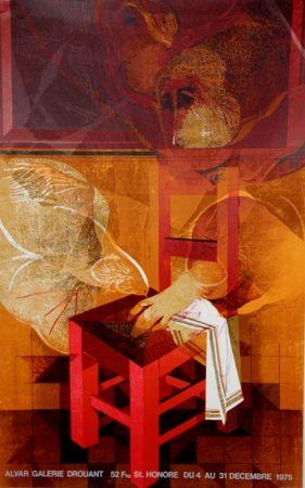 リトグラフ Alvar - Galerie Drouant