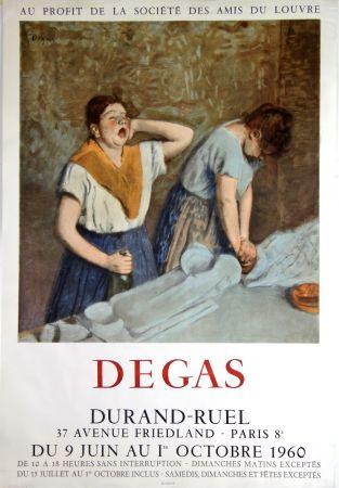 リトグラフ Degas - Galerie Durand -Ruel