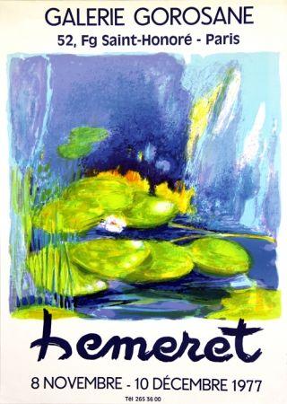 リトグラフ Hemeret  - Galerie Gorosane