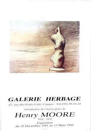 オフセット Moore - Galerie Herbage  Cannes