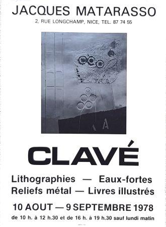 オフセット Clavé - Galerie Jacques Matarosso