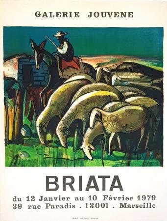 リトグラフ Briata - Galerie  Jouvene