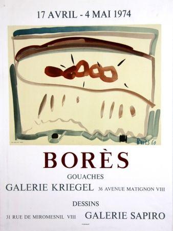 リトグラフ Bores - Galerie Kriegel