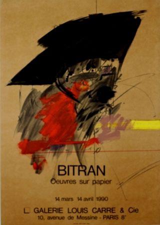 リトグラフ Bitran - Galerie Louis Carre
