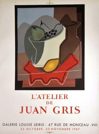 リトグラフ Gris  - Galerie Louise Leiris
