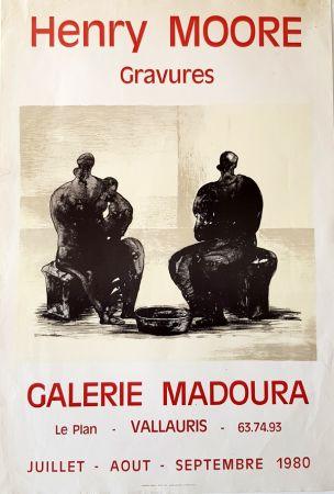 オフセット Moore - Galerie Madoura  Vallauris