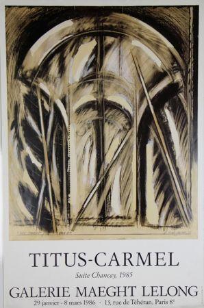 オフセット Titus Carmel - Galerie Maeght