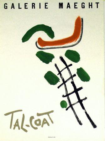 リトグラフ Tal Coat - Galerie Maeght