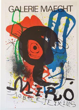 リトグラフ Miró - Galerie Maeght