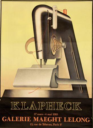 リトグラフ Klapheck - Galerie Maeght Lelong
