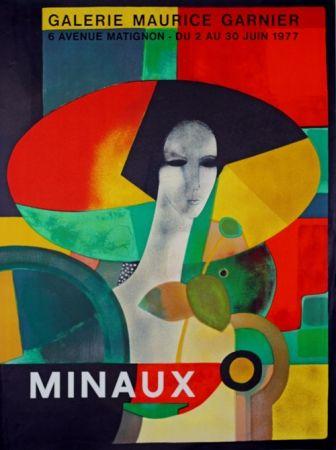 リトグラフ Minaux - Galerie Maurice Garnier