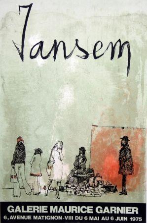 リトグラフ Jansem - Galerie Maurice Garnier